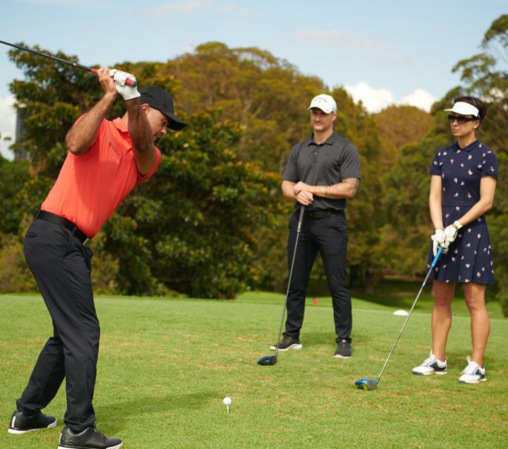 Enjoy your golf