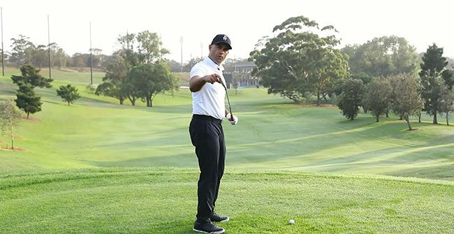 Understanding the club face when hooking the golf ball