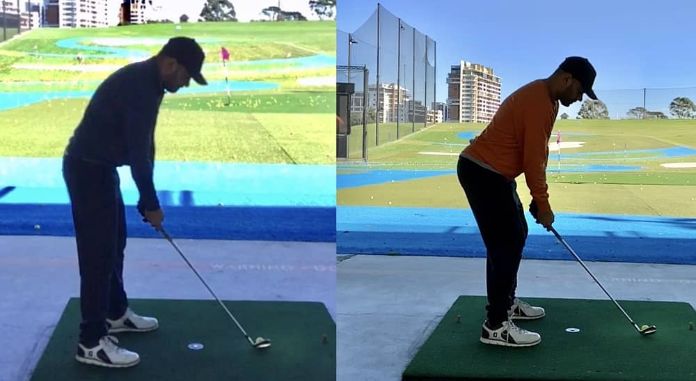 A golf pro and physiotherapist can work collectively to improve your swing